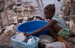 Children still need aid three months after Caribbean hurricanes