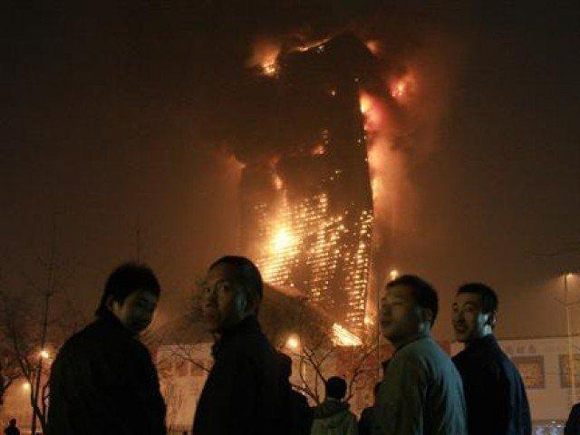 Five killed in Beijing residential fire