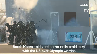 Video: US, S. Korea 'discuss' military drills amid Olympic worries