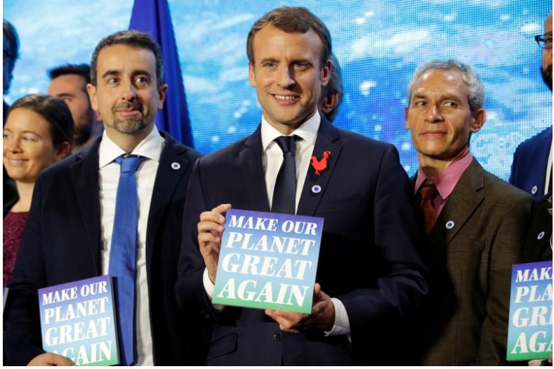 France awards climate grants to US-based scientists on summit eve