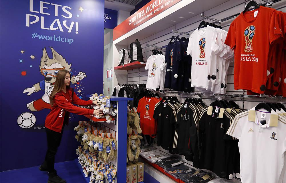 First official World Cup store opens in Moscow