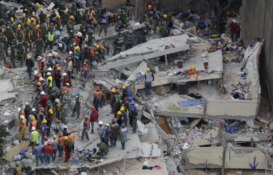 Construction director arrested for building collapse incident in Mexico quake