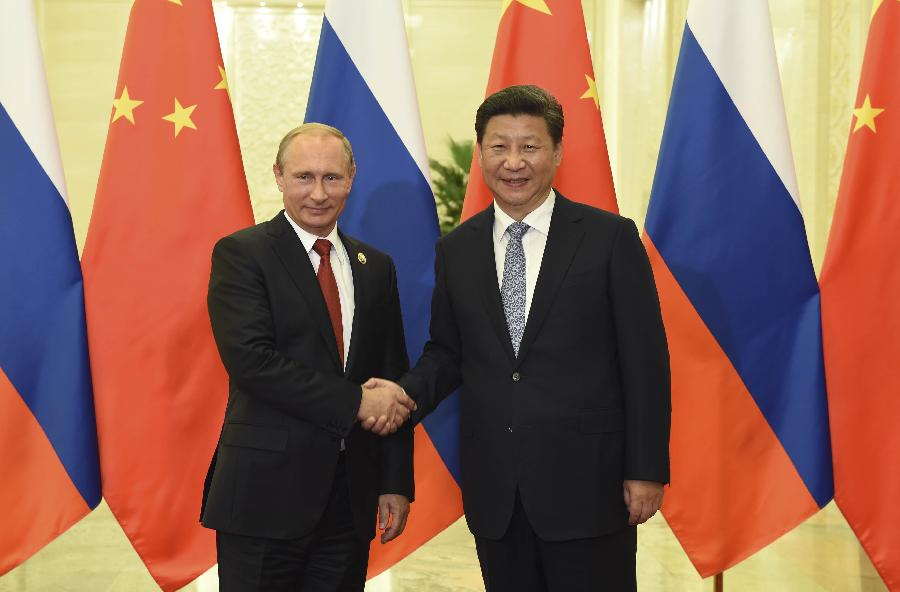 Image result for China and Russia Xinhua