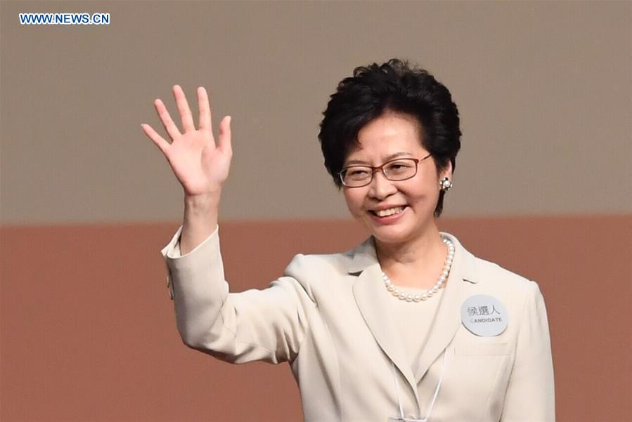 Image result for Cheng Yuet-ngor  xinhua