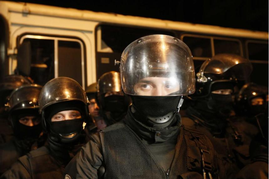 Protesters gather in Kiev after police recapture ex-Georgia leader Saakashvili