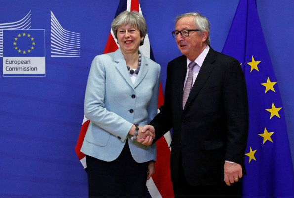The UK and EU reach deal to move Brexit talks forward