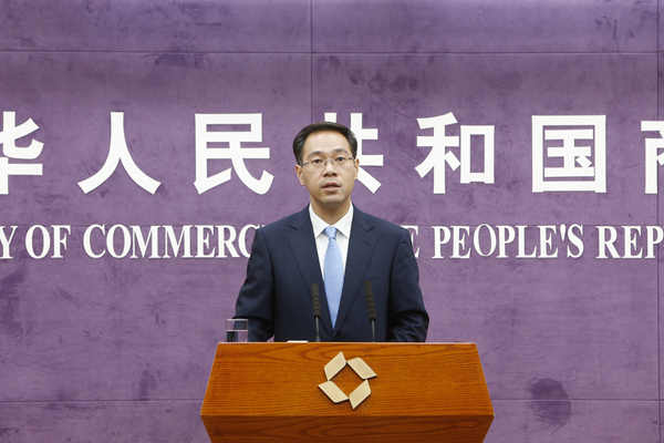 Image result for Gao Feng, spokesperson of the Ministry of Commerce