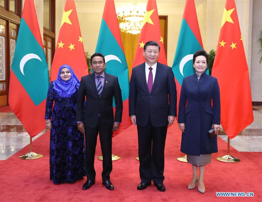 China, Maldives to cooperate more on Belt and Road
