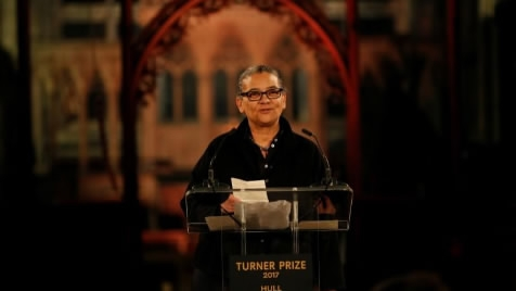Lubaina Himid is the oldest artist to win Britain's Turner Prize