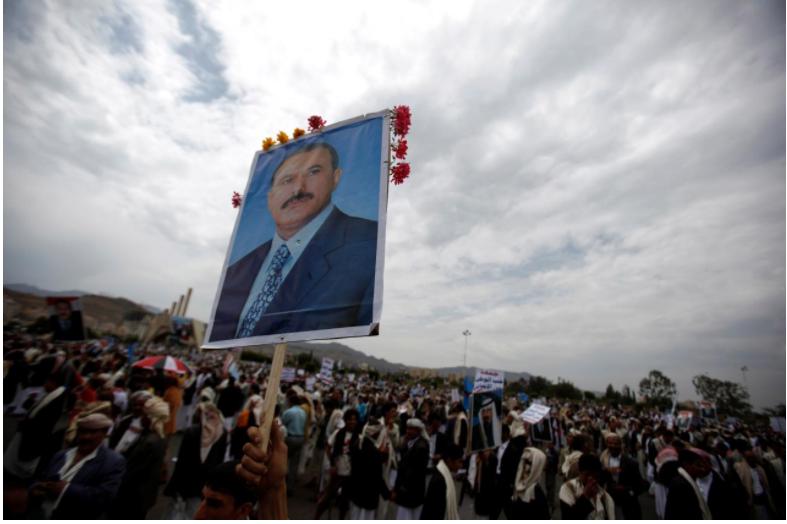 Exiled son of Yemen's Saleh takes up anti-Houthi cause