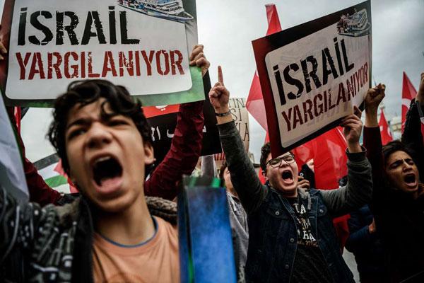 Palestinians seek to rally leaders against Trump Jerusalem move