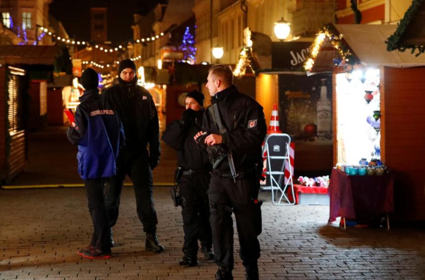 German police say Potsdam explosive package not 'terrorism'