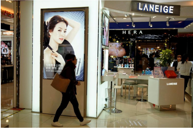 Beauty contest: China make-up brands rein in South Korea rivals