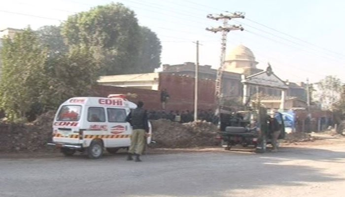 Four injured in Pakistan's college firing