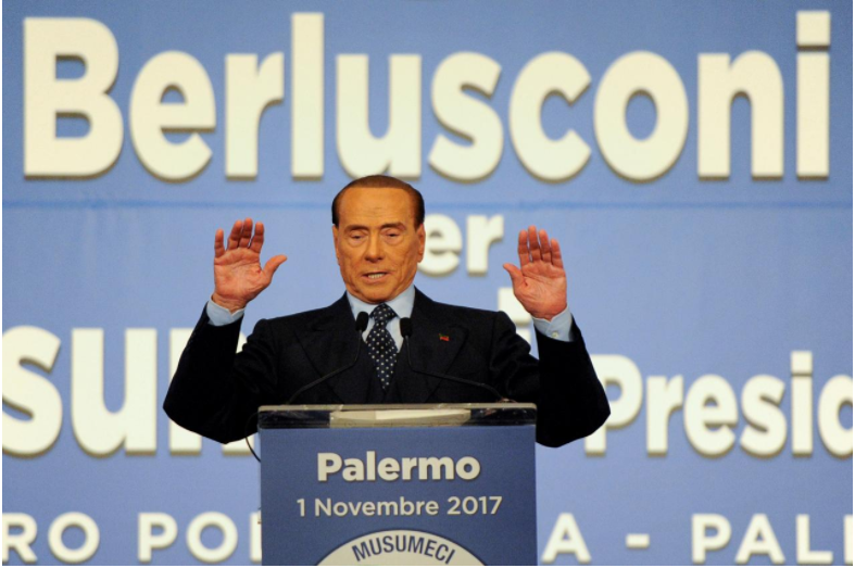 Italy's Berlusconi sent to trial accused of bribing witness: source