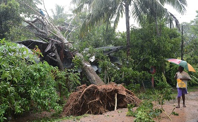 4 killed as strong winds, heavy rains lash Sri Lanka
