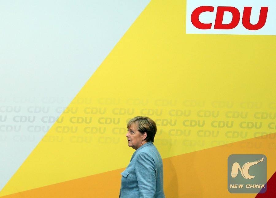 Merkel: I'm prepared for a minority government