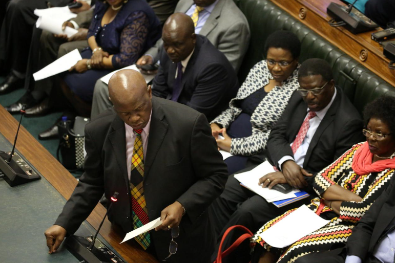 Zimbabwe president Mnangagwa appoints Chinamasa acting finance minister
