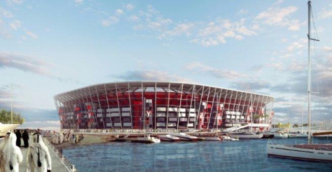 Qatar unveils World Cup's first 'reusable' stadium