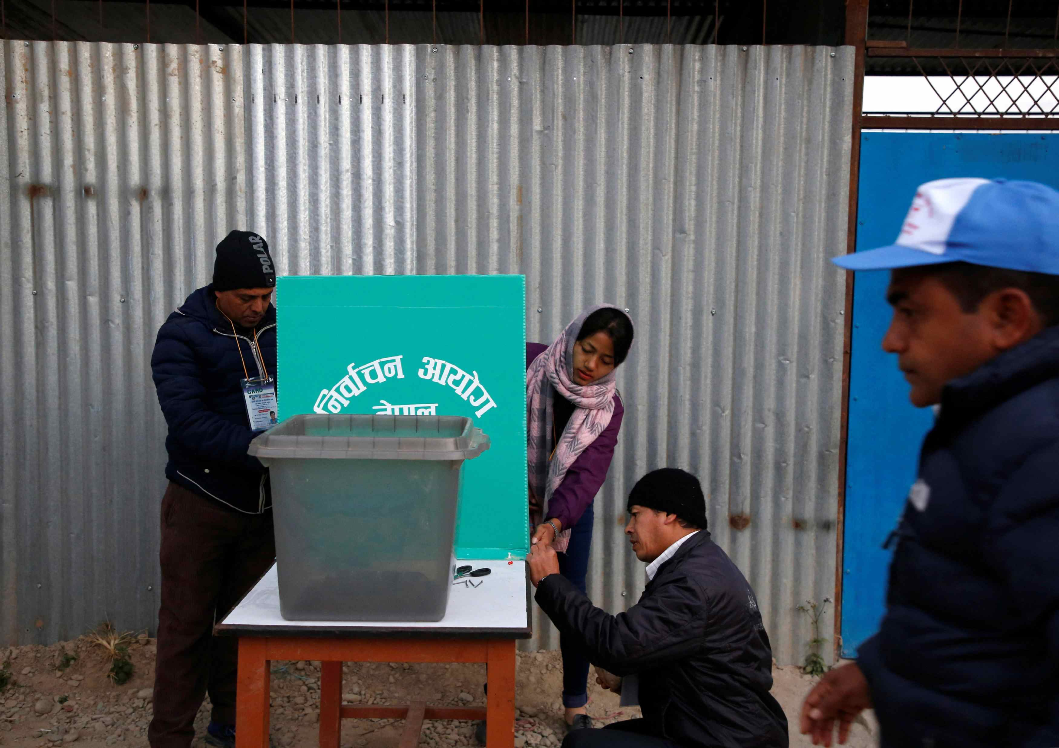 First phase of Nepal elections succesfully: election commission