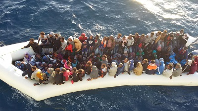 At least 25 dead after migrant boat sinks off Libya