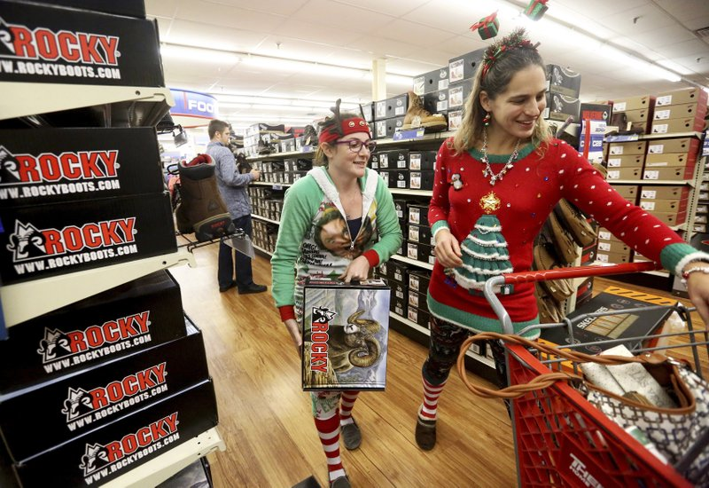 Some shoppers find a lower-key Black Friday