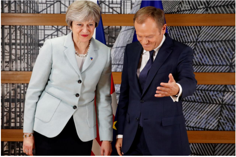 """Britain has 10-day """"absolute deadline"""" to deliver on key Brexit issues: Tusk"""