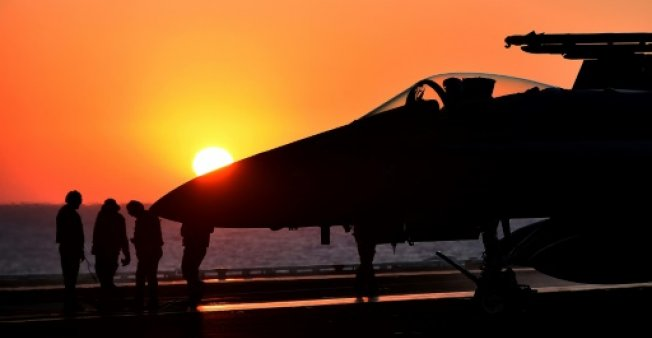 Anti-IS coalition strikes drop to lowest number
