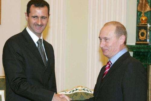 Russia's Putin hosts Syria's Assad for talks: Kremlin