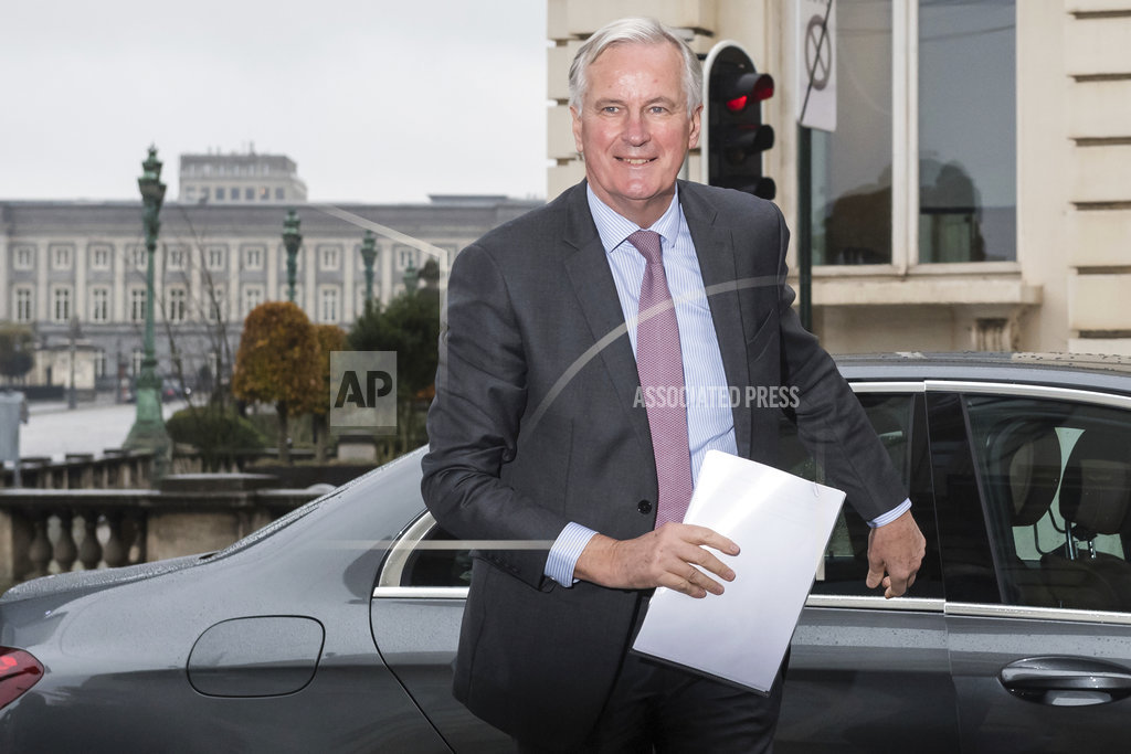 EU's Barnier says UK must offer Ireland solutions for Brexit