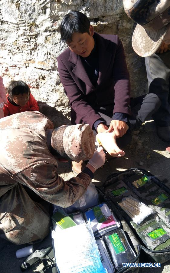 Three injured following 6.9-magnitude earthquake in Tibet
