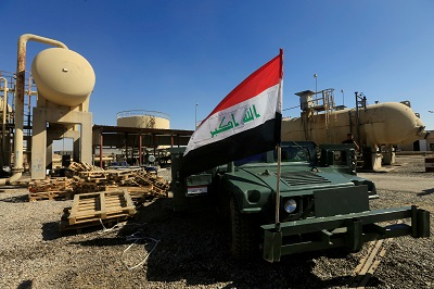 Iraqi forces near last IS stronghold