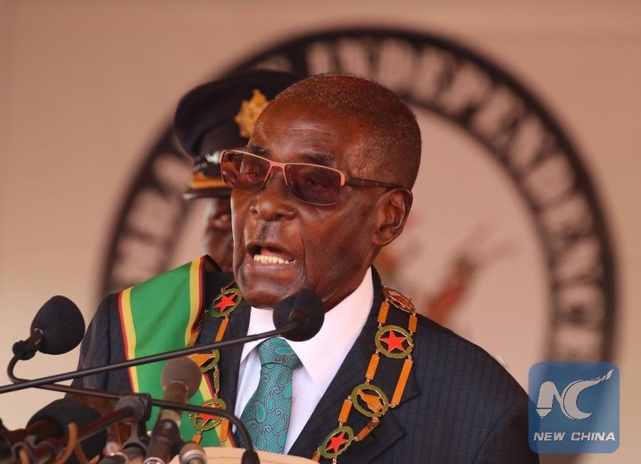 Image result for Zimbabwe President Robert Mugabe xinhua