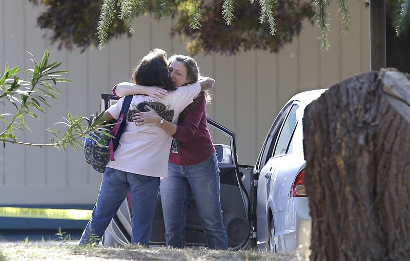 California gunman tried to shoot more kids, but lockdown save lives