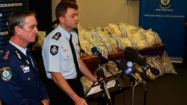 Aussie police make two arrests following 4.8-mln-USD cocaine bust