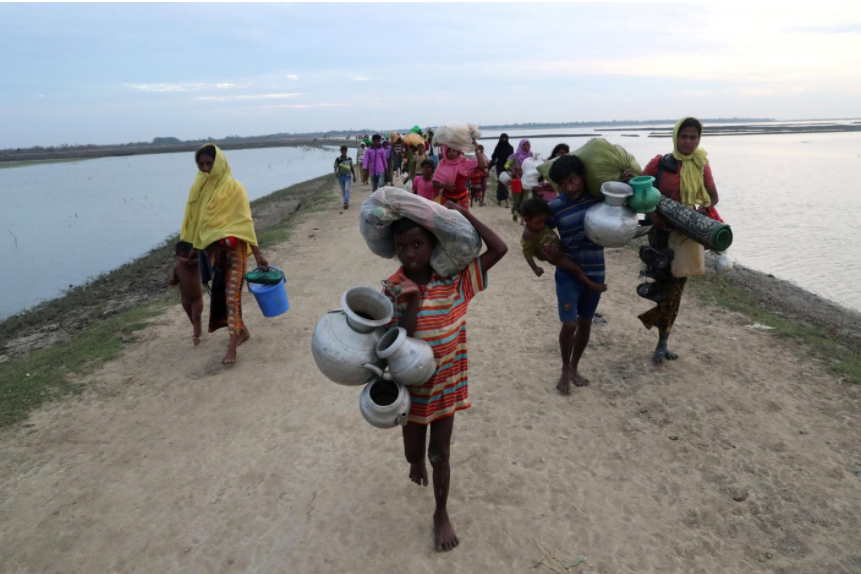 UN official says will raise sexual violence against Rohingya with ICC