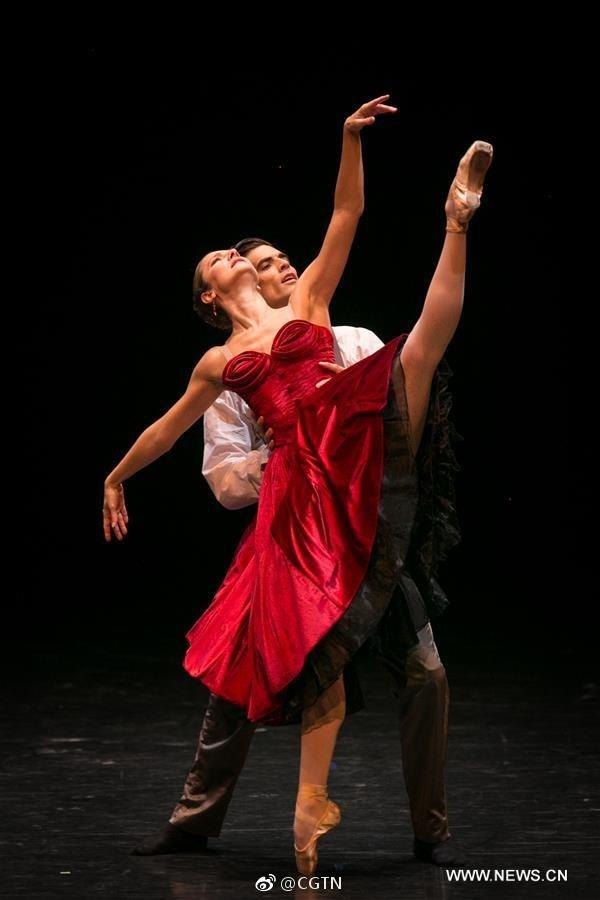 China international ballet season kicked off in Beijing