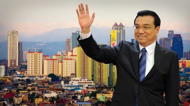 Chinese Premier Li Keqiang arrives in Manila for key ASEAN meetings