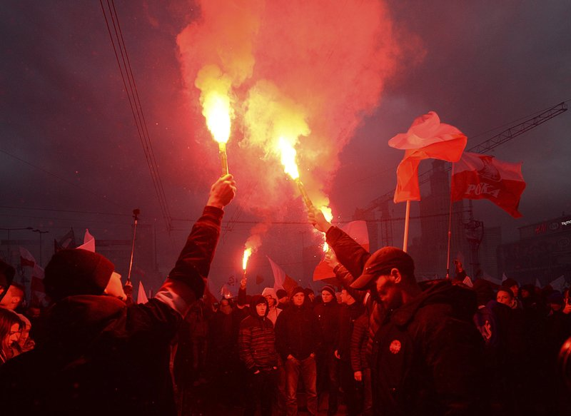 60,000 join far-right march on Poland's Independence Day