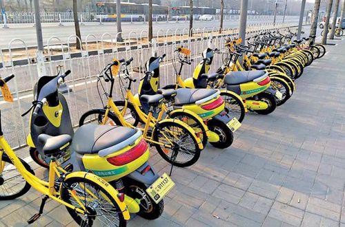 Shanghai bans electric bicycle sharing