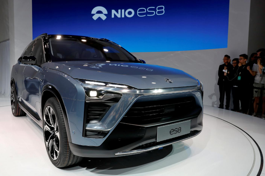 China electric car startup Nio raises over $1 billion from Tencent