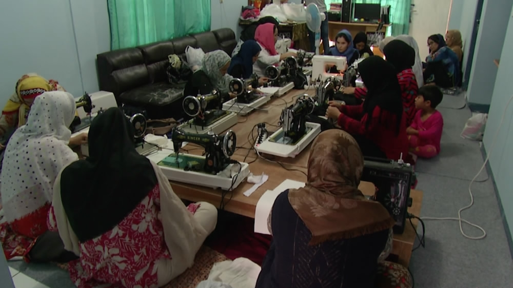 Refugees in Indonesia build a community