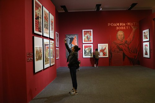 Russia's State Historical Museum brings 1917 October Revolution treasures to Beijing