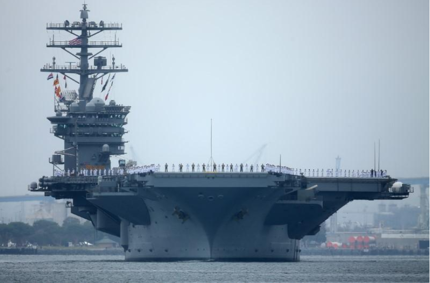 US to stage drill with three carriers as Trump visits Asia