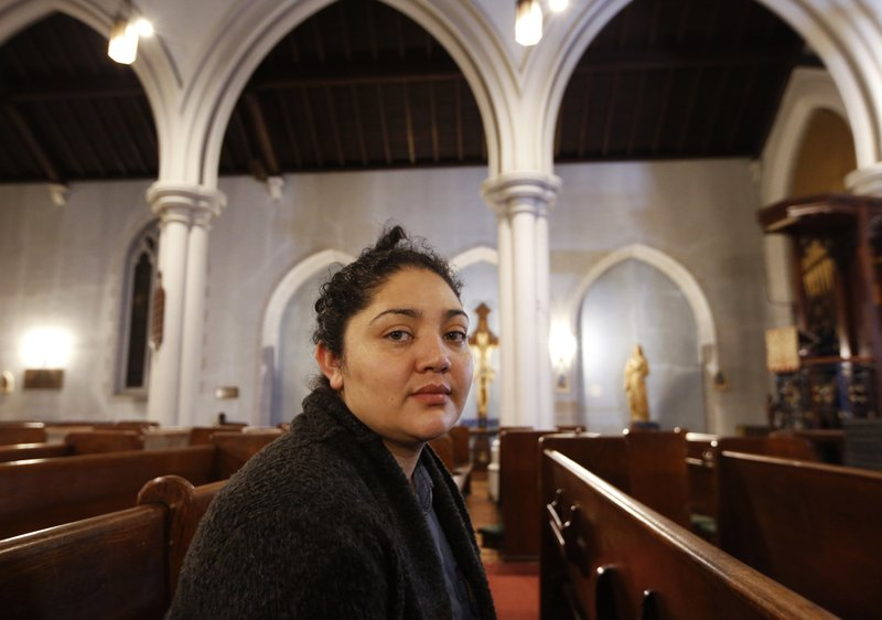 Immigrants seek sanctuary in US churches