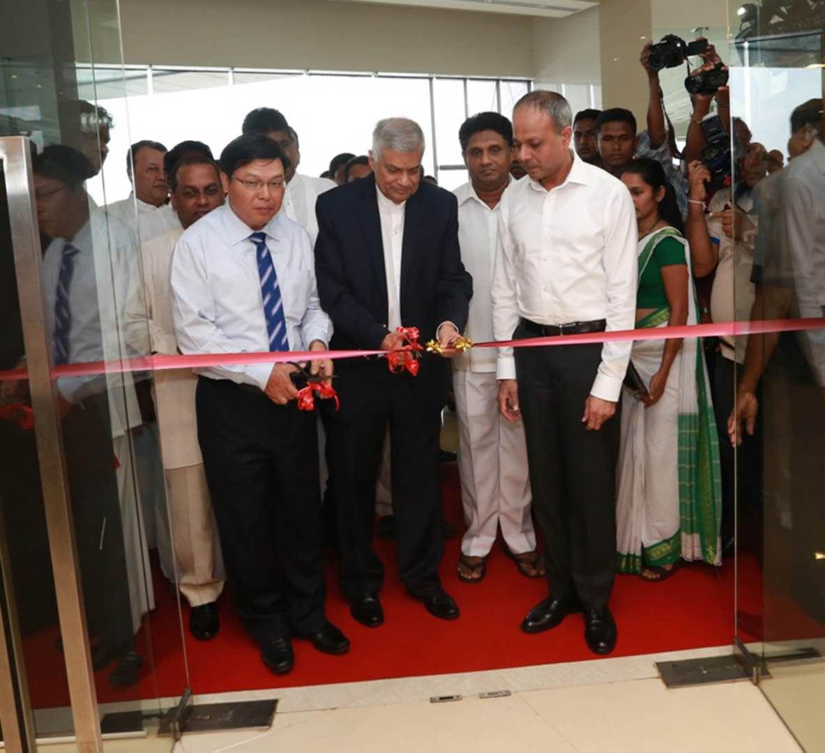 Sri Lanka, China open Industrial Zone Office in Hambantota