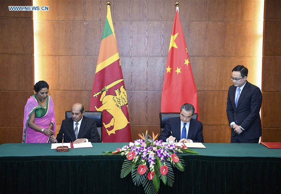 Sri Lanka – China Logistics and Industrial Zone inaugurated
