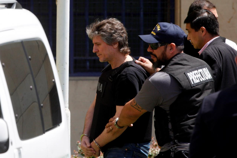 Ex-Argentina Vice President Boudou arrested in corruption case