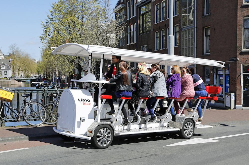 Bye-bye beer bikes: Dutch capital bans pedal-powered bars