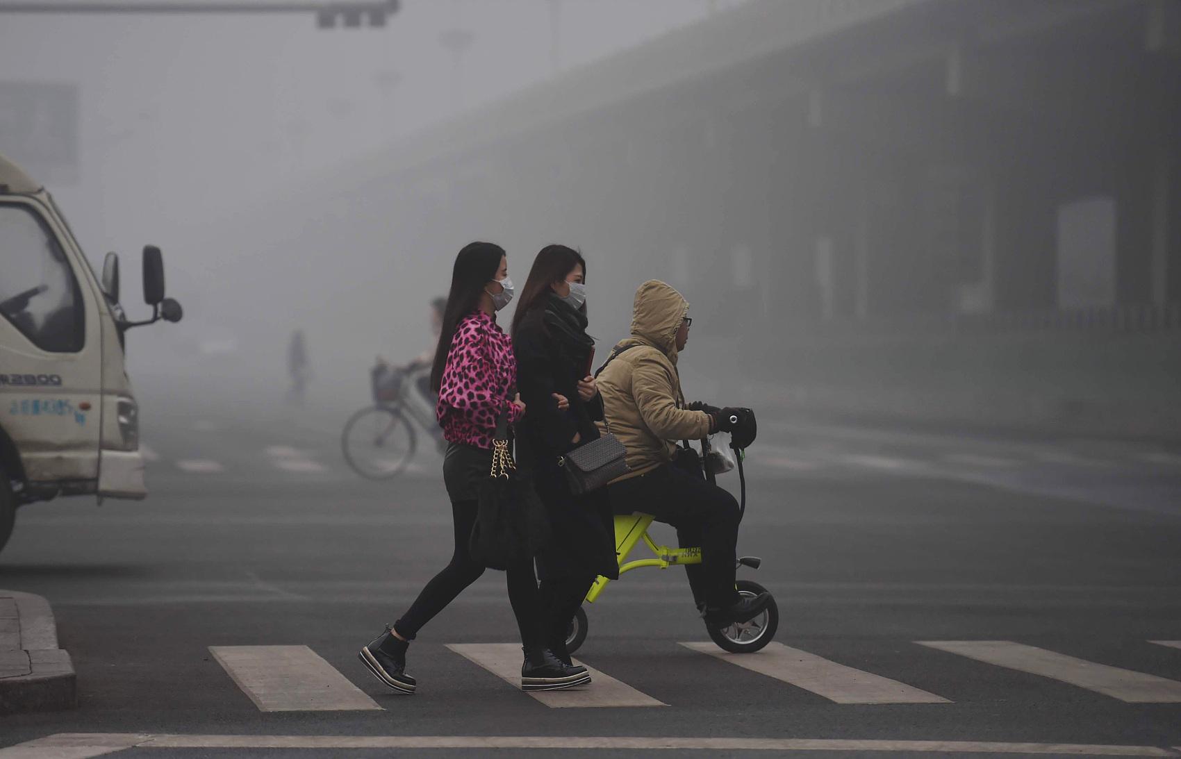 Hebei says air quality goal achieved, despite poor figures in region